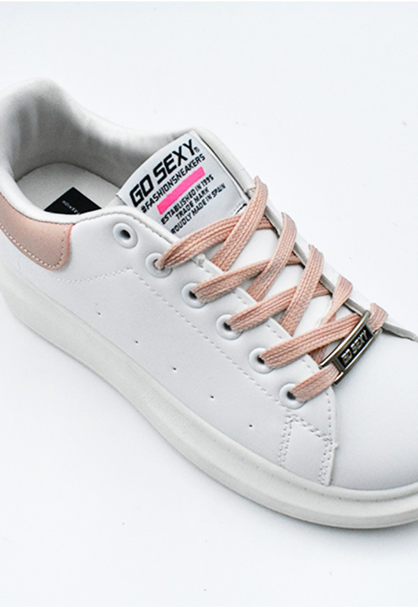 Go Sexy Dinamita vegan blanco adornos rosa pastel