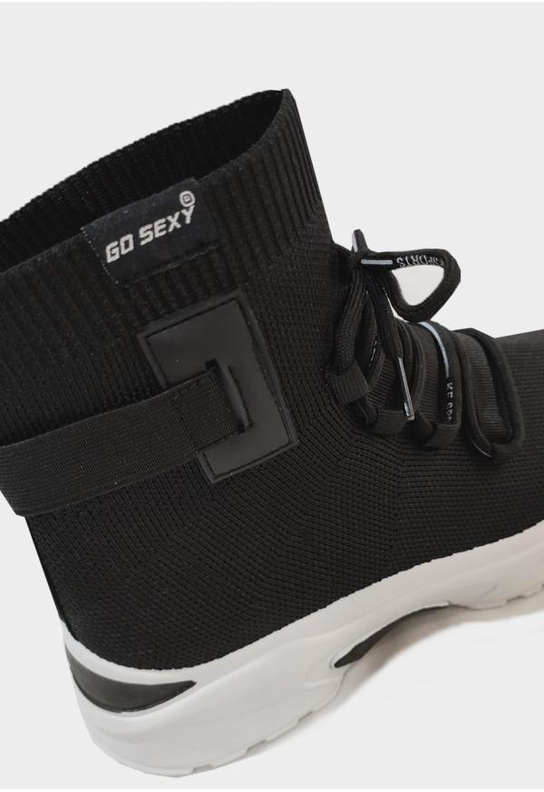 Go Sexy Sock neopreno negro