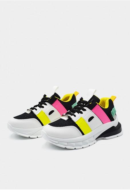 K-ardio vegan negro adornos tricolor