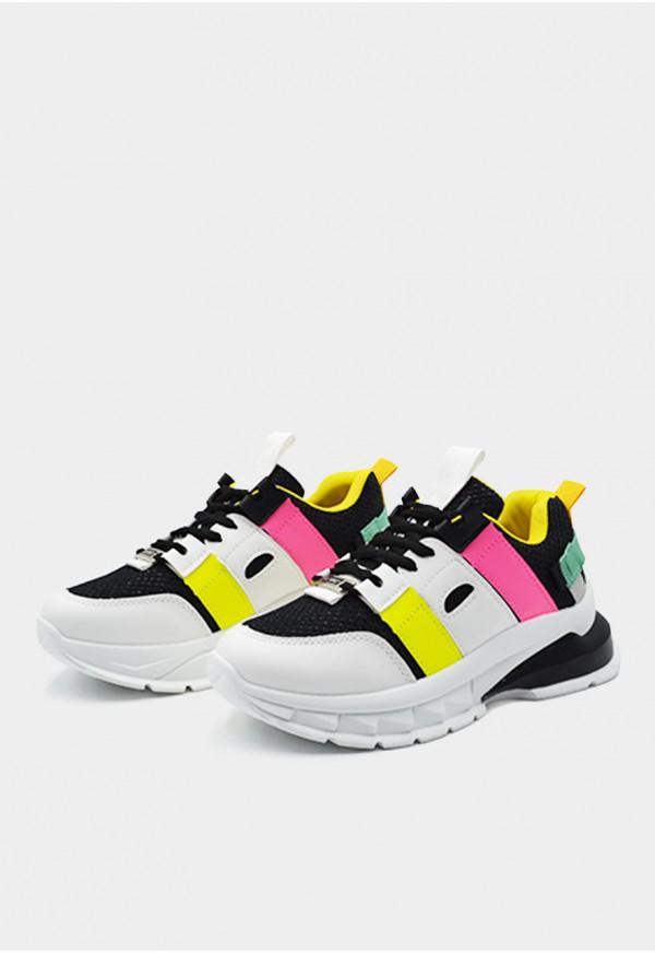Go Sexy K-ardio vegan negro adornos tricolor