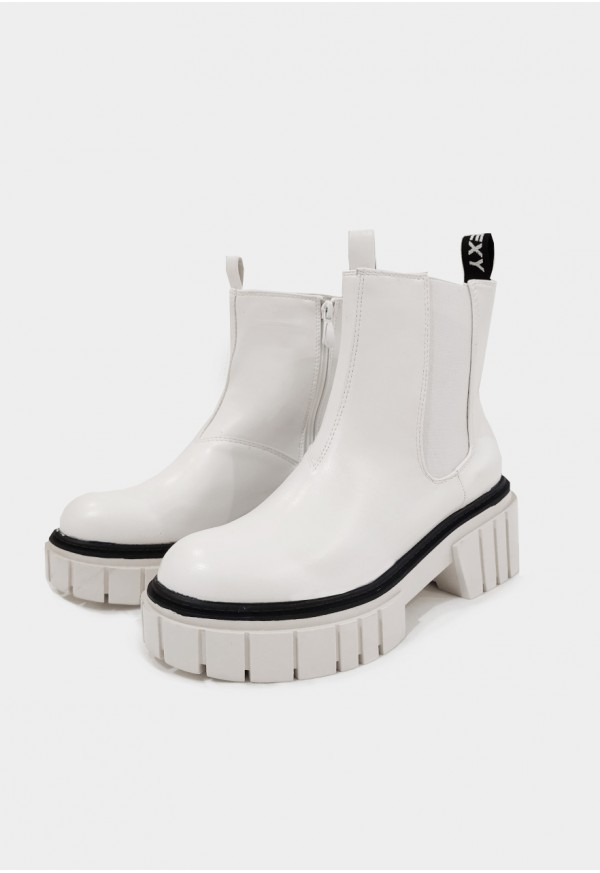 Go Sexy KAROL botín vegan blanco