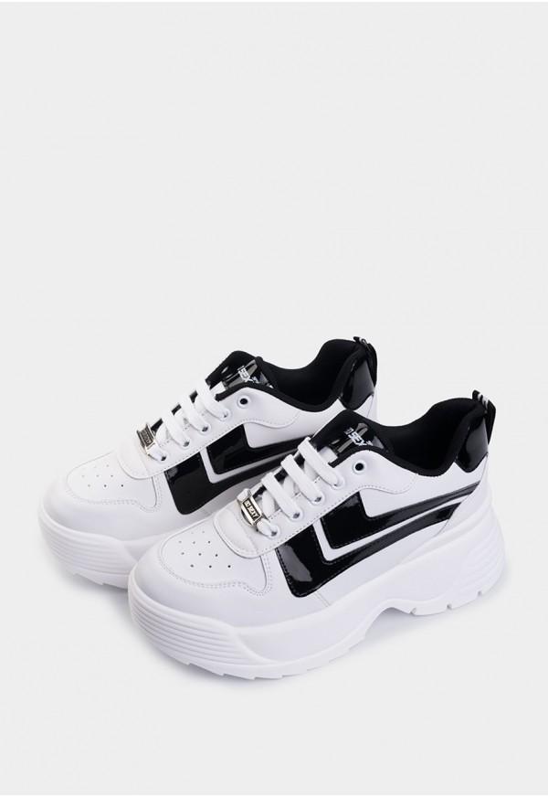 Toro Vegan Leather Blanco-Negro
