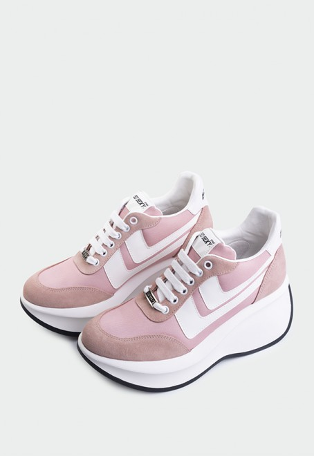 Iconic serraje nylon rosa