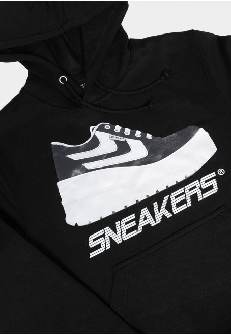 Sudadera negro Sneaker addicted