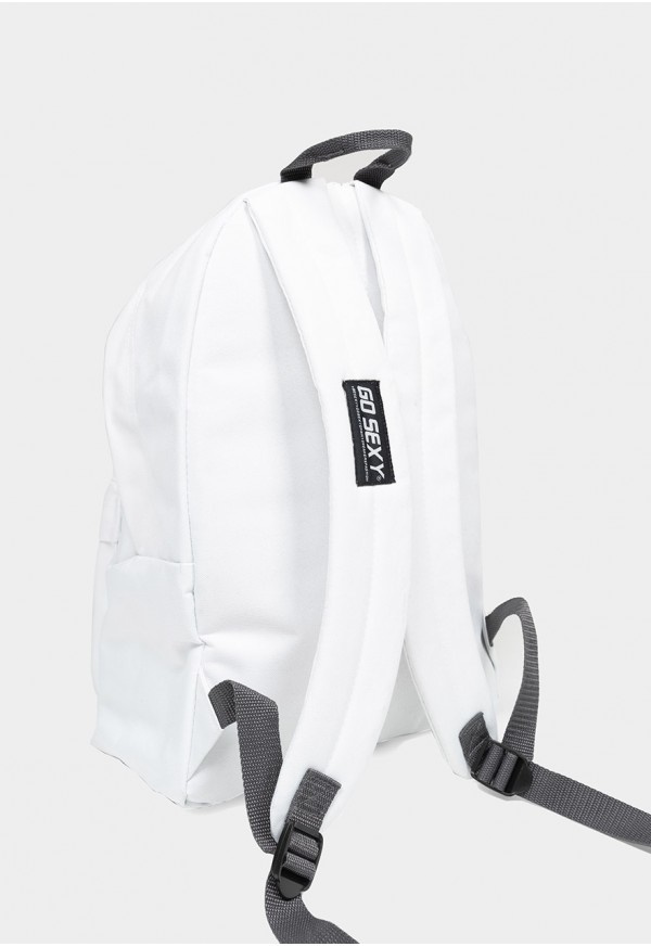Go Sexy White Backpack Go Sexy